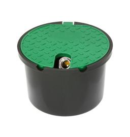 Runde Ventilbox mit Metallkugelhahn